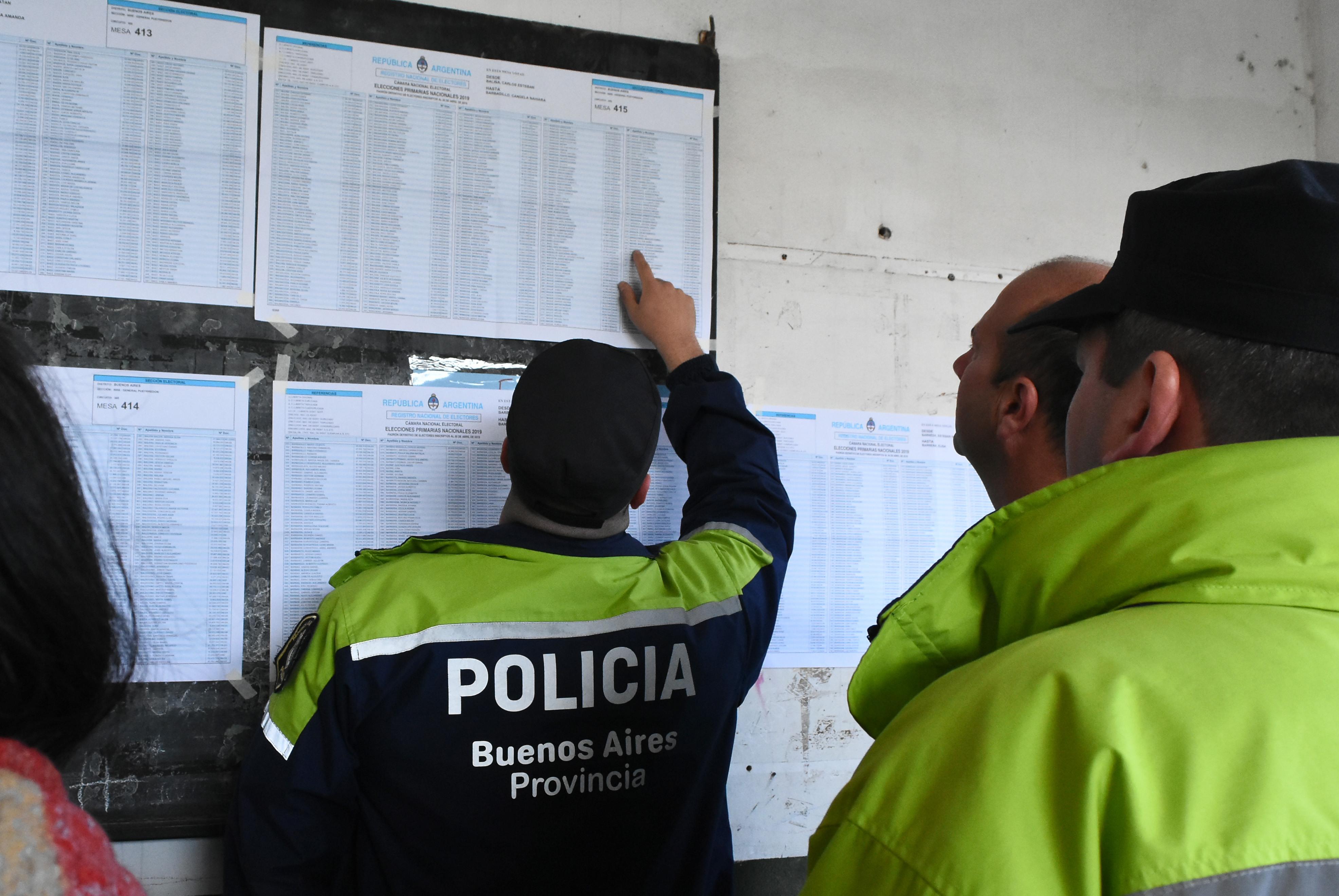 Seguridad elecciones