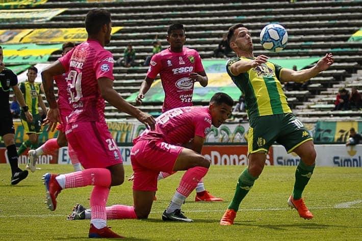 Volvió el Morro, marcó un doblete y revivió a Godoy Cruz