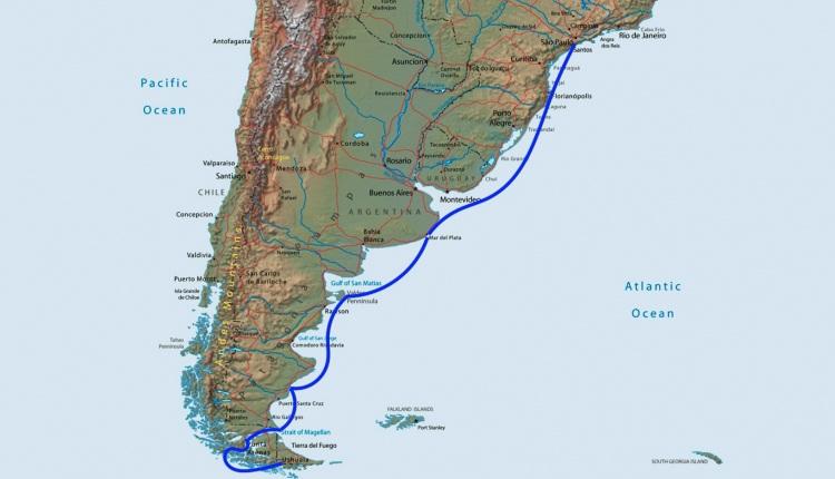 El itinerario que desde los primeros días de diciembre realizará el velero Lifexplorer.