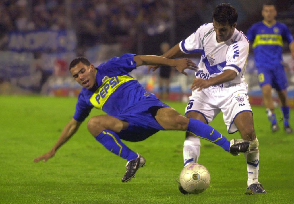 DYN28, BUENOS AIRES 04/05/03, VELEZ VS. BOCA.FOTO:DYN/CARLOS GRECO.