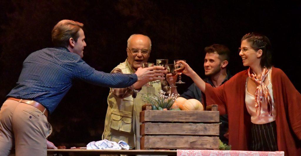 """La comedia """"Extra Virgen"""", protagonizada por Juan Leyrado, en el Teatro Provincial."""