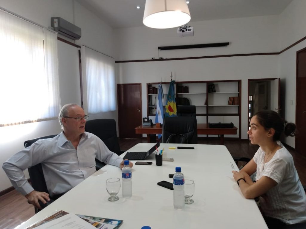 El ministro de Salud Bonaerense durante la entrevista con LA CAPITAL.