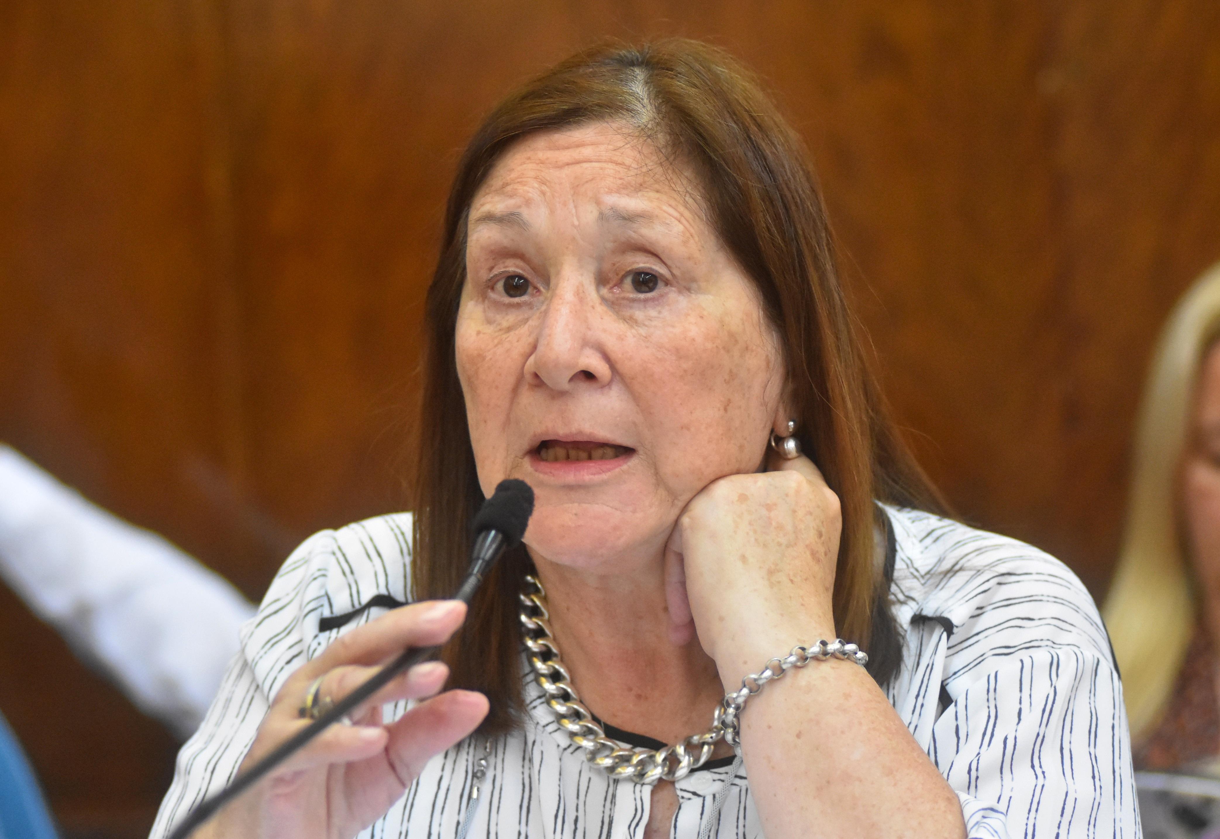 Mercedes Morro, concejal y ex titular UTHGRA en Mar del Plata.