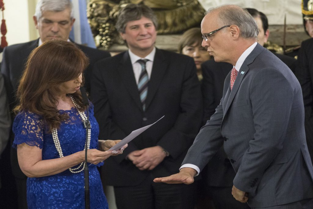 Daniel Gollan fue ministro de Salud de la Nación durante 2015.