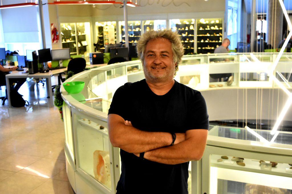 El marplatense Guibert Englebienne, uno de los fundadores de Globant. FOTO: Mauricio Arduin.
