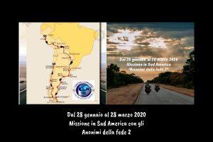 El itinerario, desde Santiago a Lima, pasando por Chile, Argentina, Uruguay, Paraguay Bolivia y Perú.