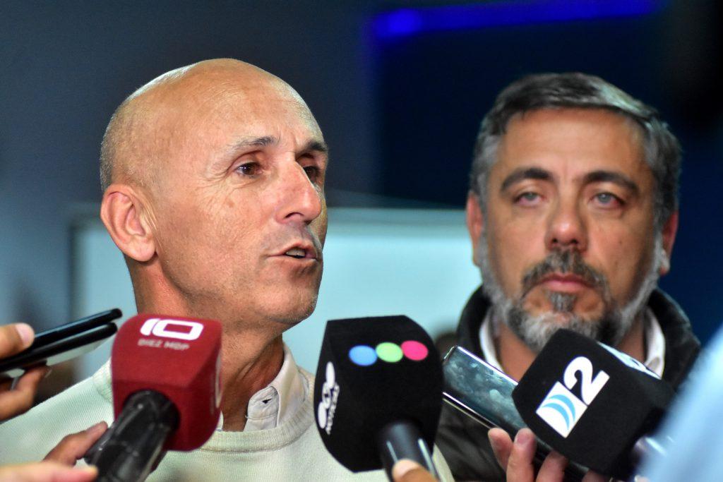 Sebastián Puglisi, el secretario de Eduación municipal.