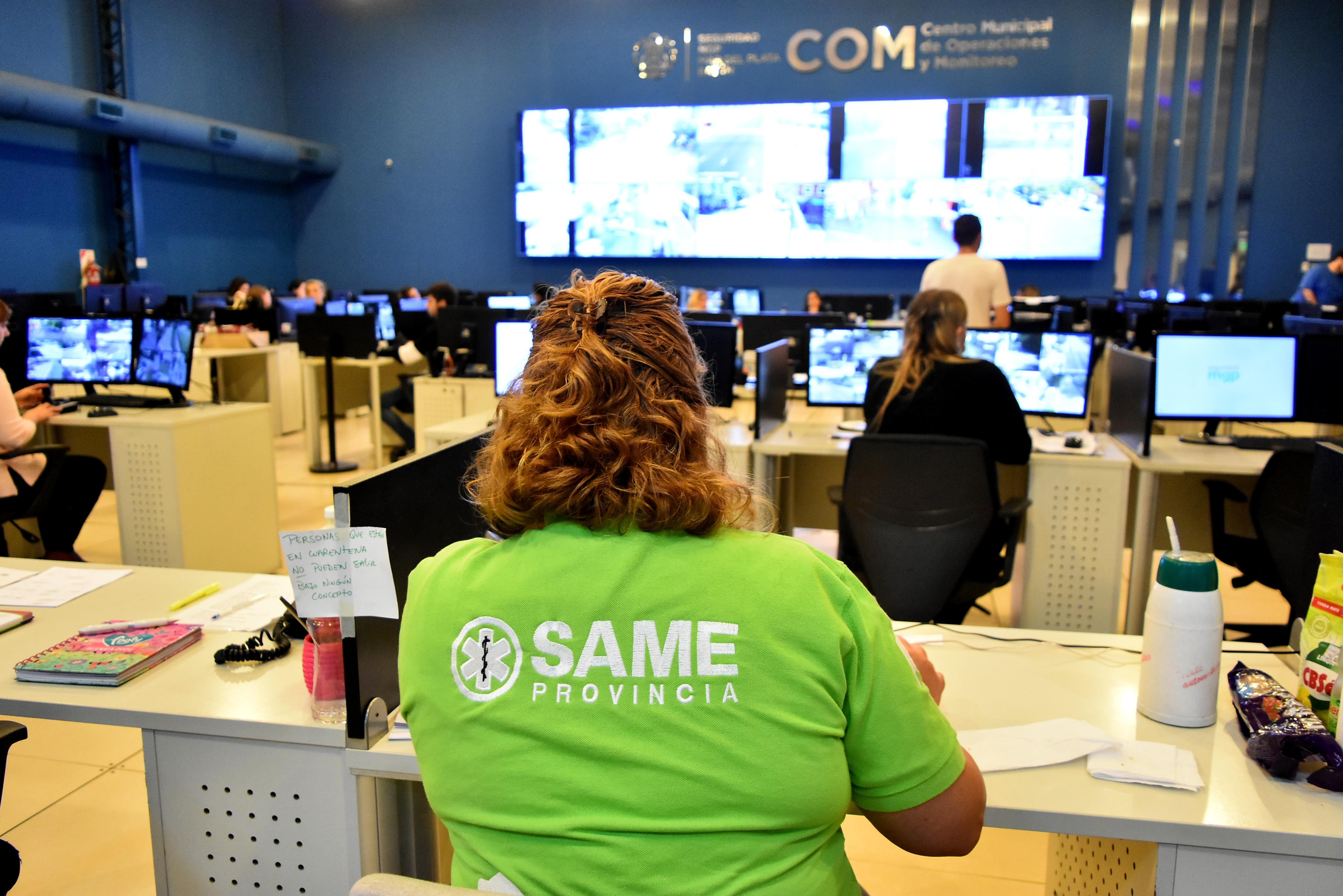 El Same realiza un importante trabajo en Mar del Plata.