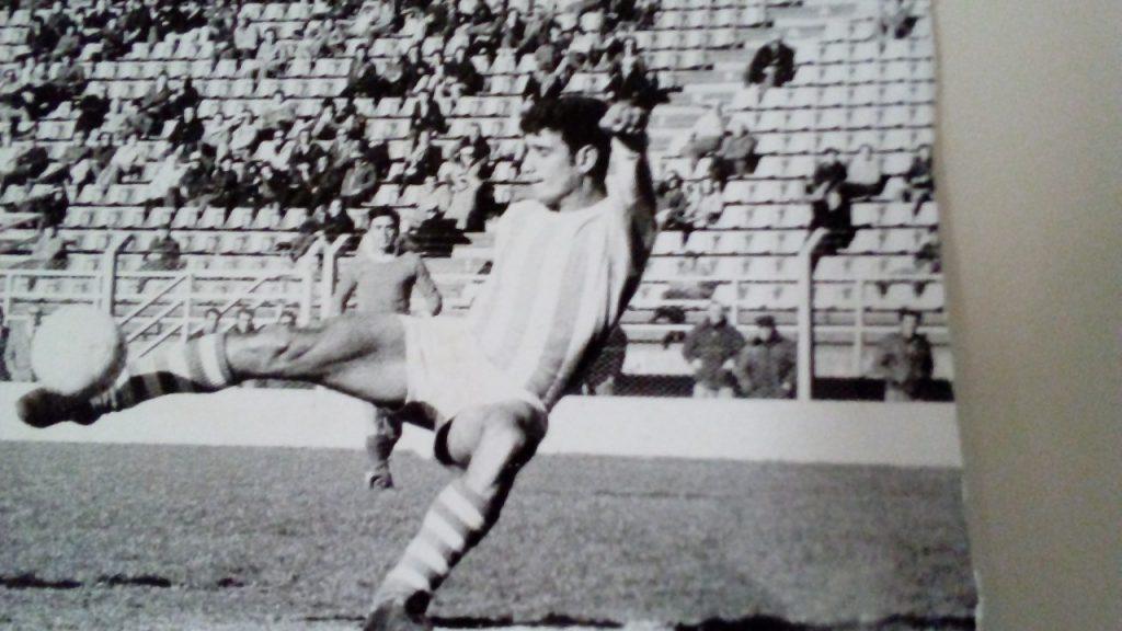 Alejandro Loffredo en acción.