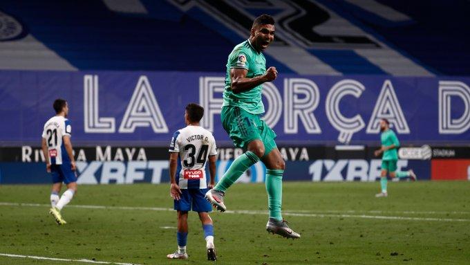 Benzema: Casemiro reconoció mérito total del francés en el gol vs Espanyol