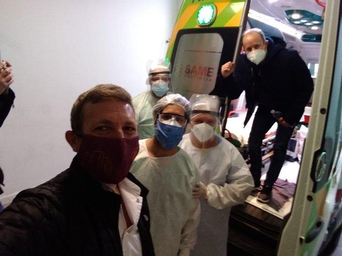 El video que publicó Martín Insaurralde tras ser dado de alta — Coronavirus