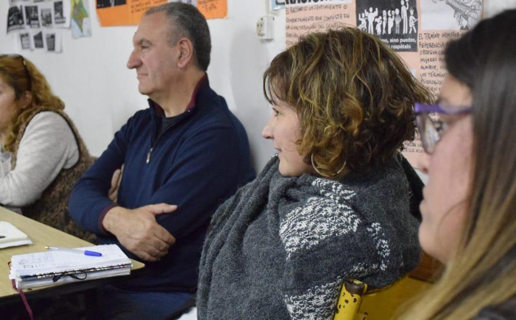 Vito Amalfitano y Marina Santoro.