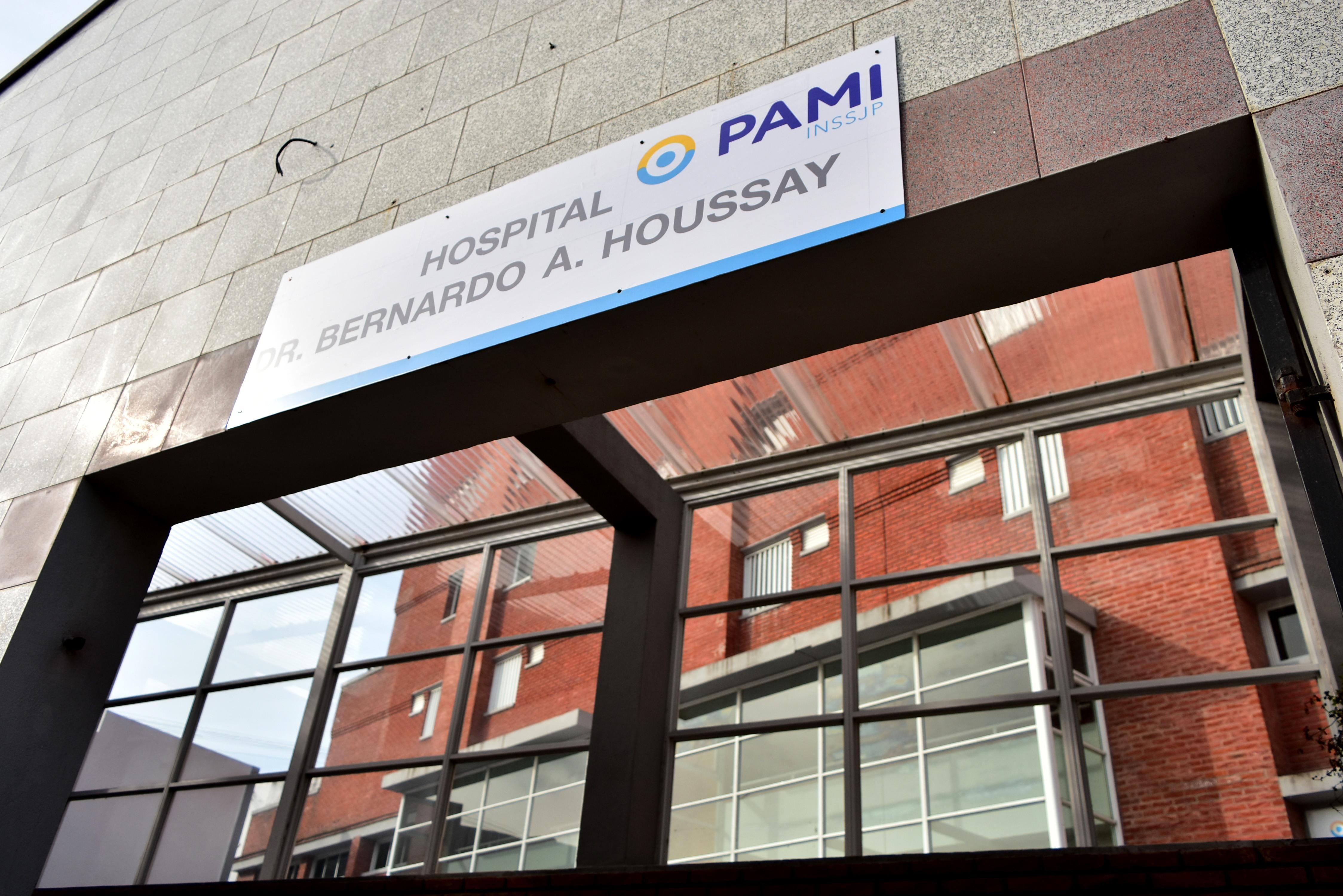 El Hospital Houssay, uno de los focos de contagios.