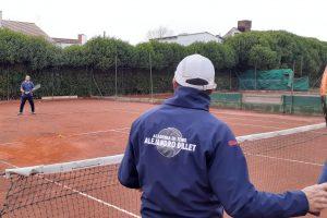 En Nación también volvió el tenis.