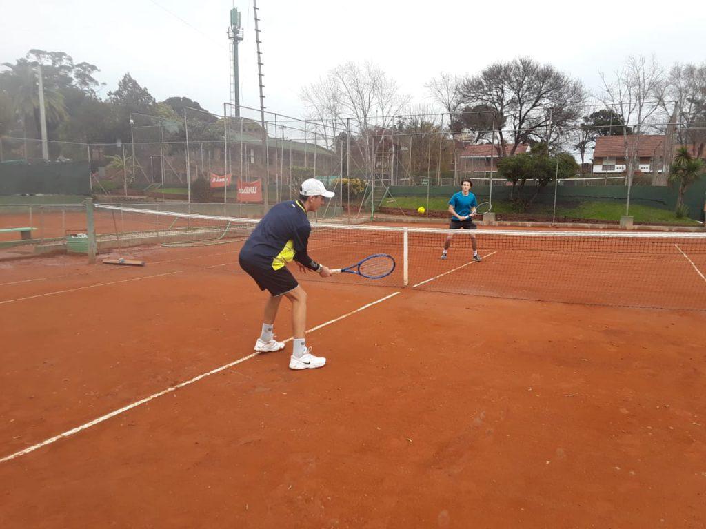 En el Edison también hubo tenis el fin de semana.
