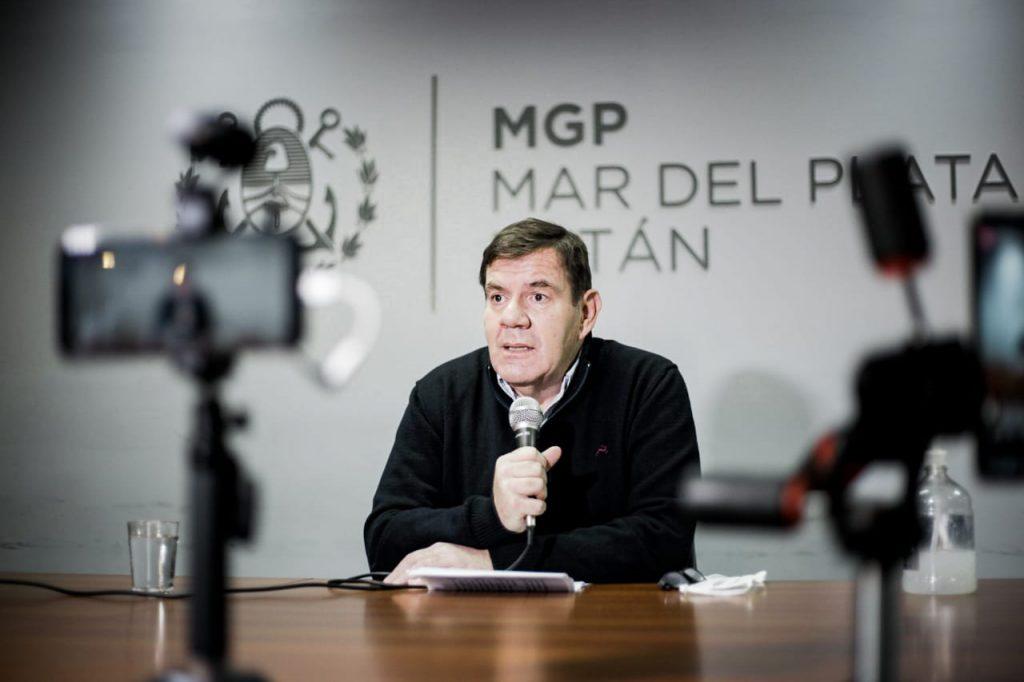 Guillermo Montenegro, en la última conferencia.