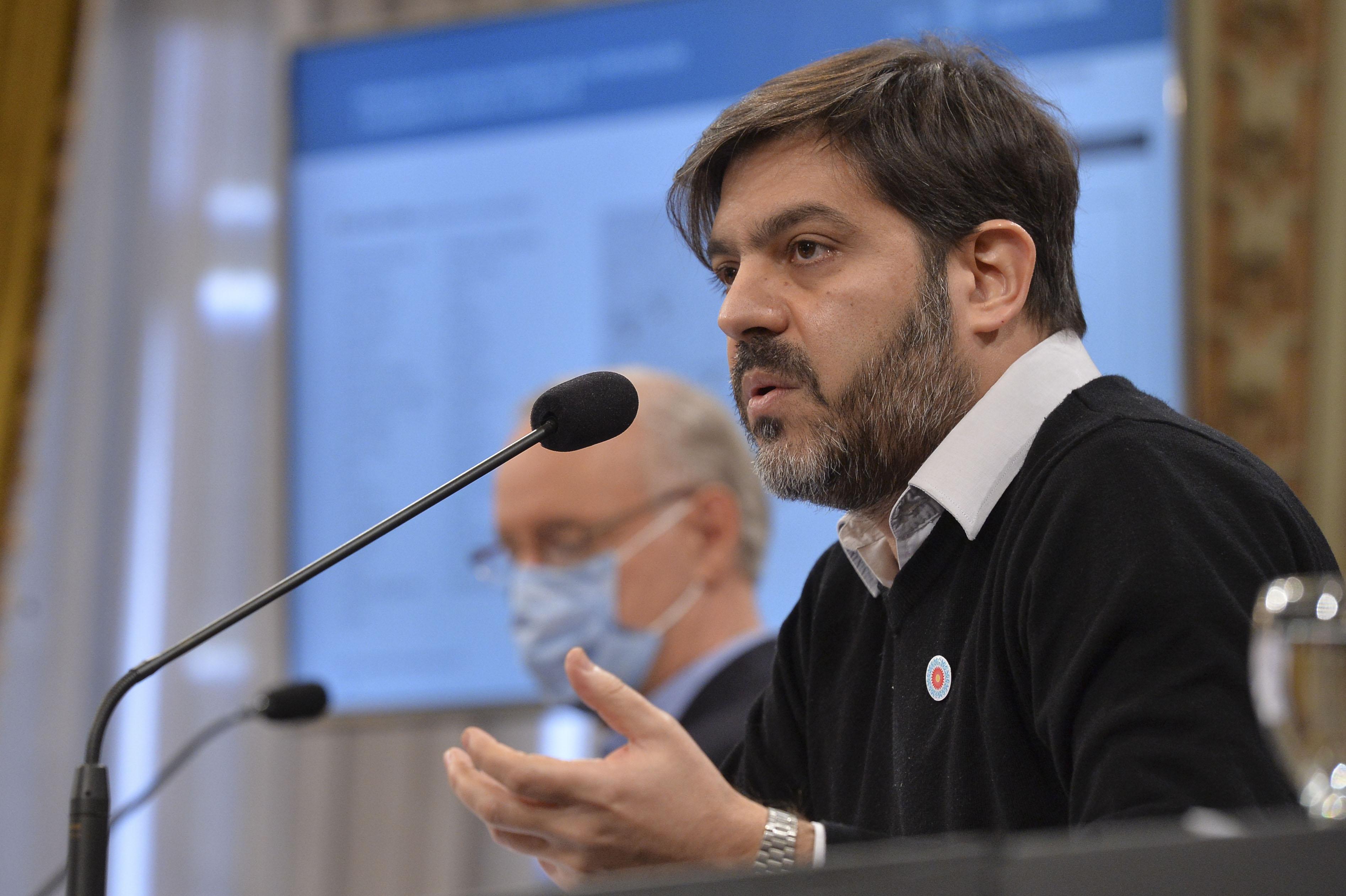 Carlos Bianco, jefe de Gabinete bonaerense.