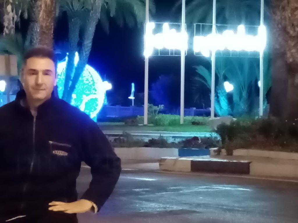El marplatense tiene 47 años y vive en Torremolinos.