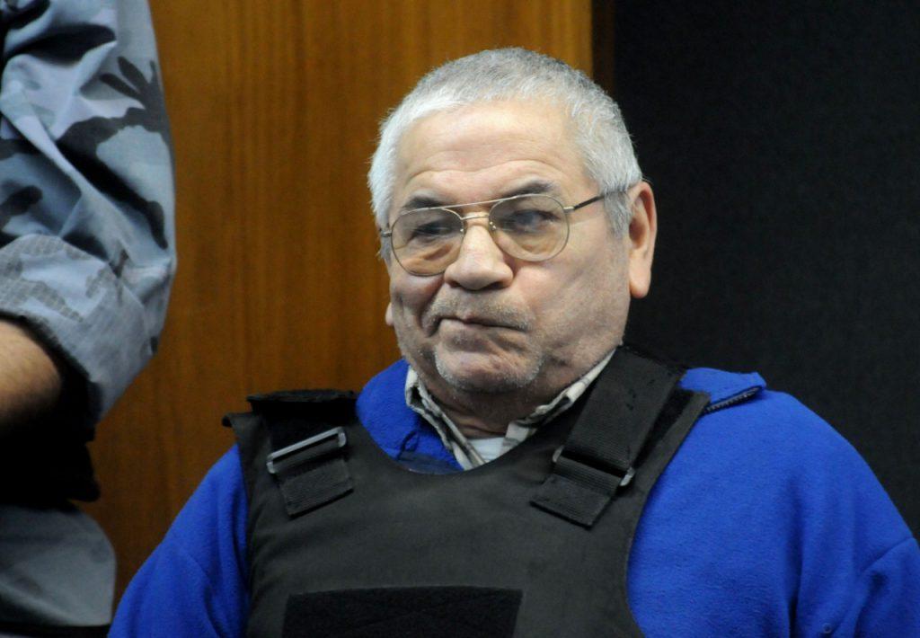 Molina, durante el juicio en el que fue condenado a perpetua.