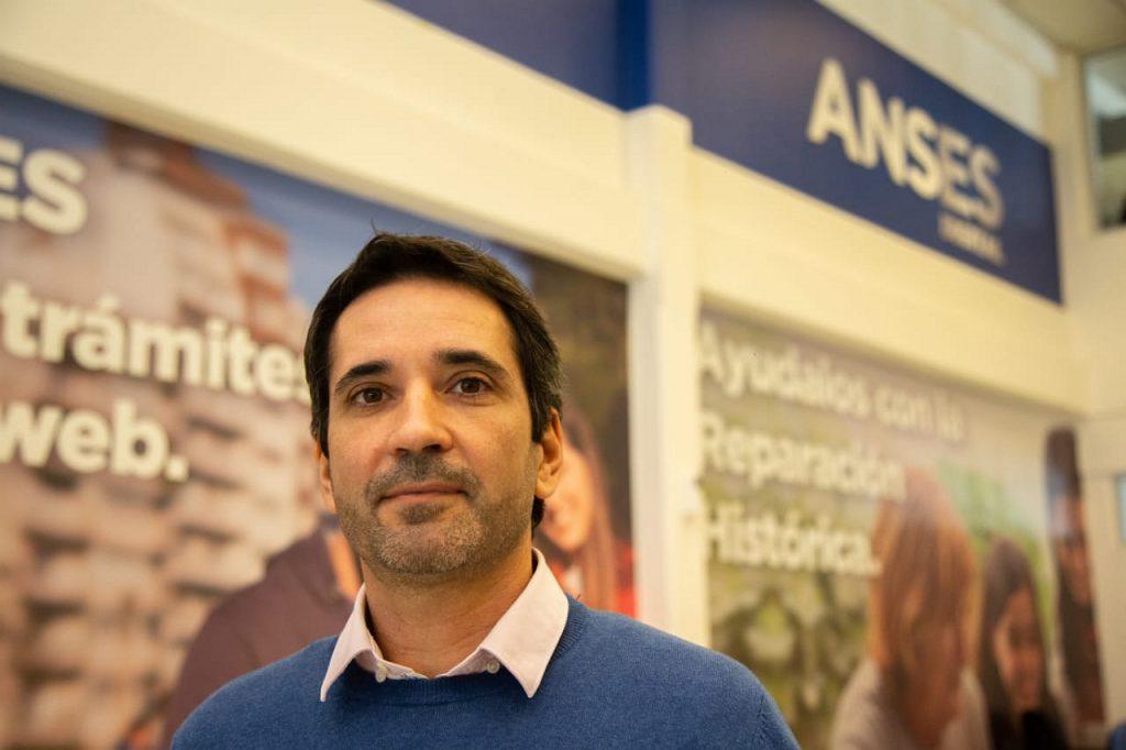 Pablo Obeid. Jefe Regional de Anses.