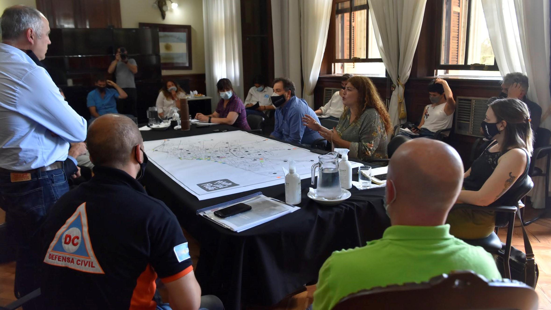 """Responsables locales del SAME y Defensa Civil participaron de una reunión para coordinar los alcances de """"Verano cuidado"""""""