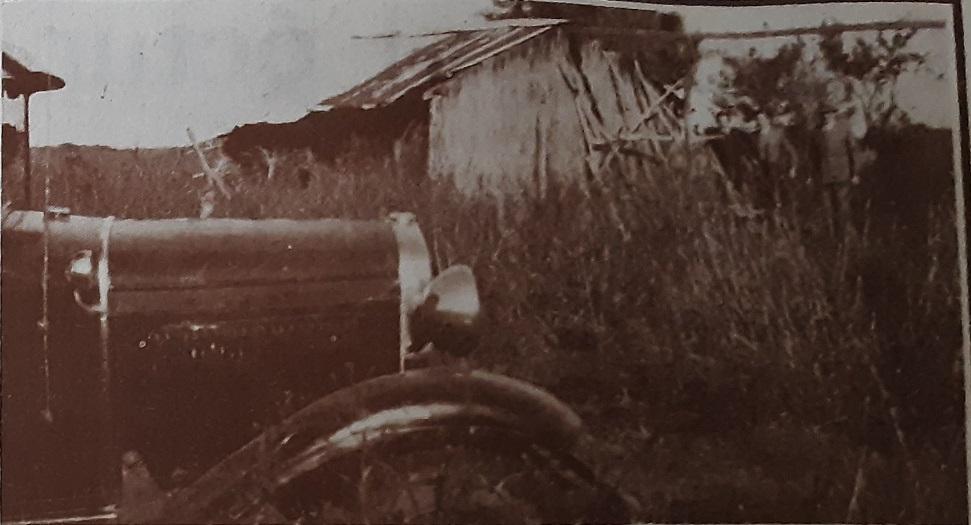 Rancho que ocupaba ocasionalmente Domínguez. A poca distancia de allí aparecieron los cadáveres y el vehículo.