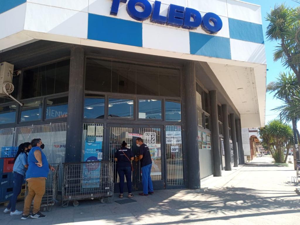 """Se detectaron """"graves problemas bromatológicos"""" en la sucursal de Toledo en Santa Clara del Mar"""