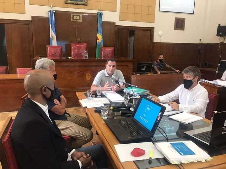 El tratamiento del pliego comenzó el 28 de diciembre con la presencia de funcionarios municipales.