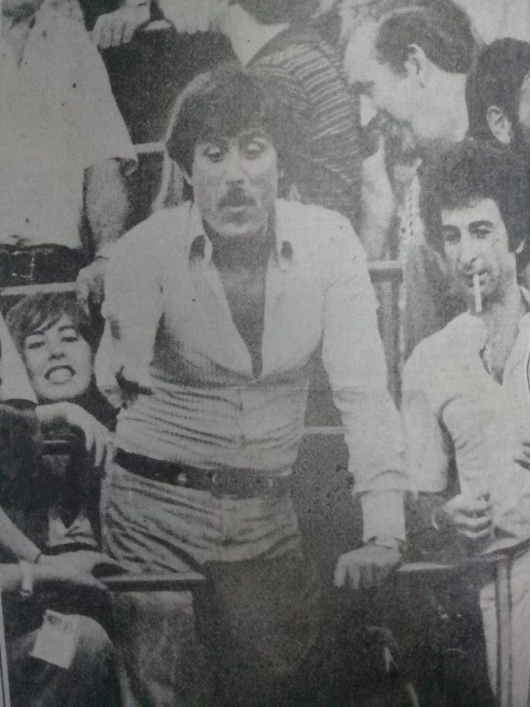 Lando Buzzanca en la Bombonera.