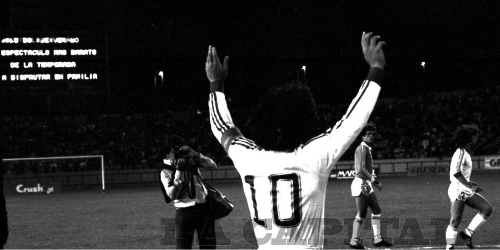 Diego se despide de Argentinos Juniors.
