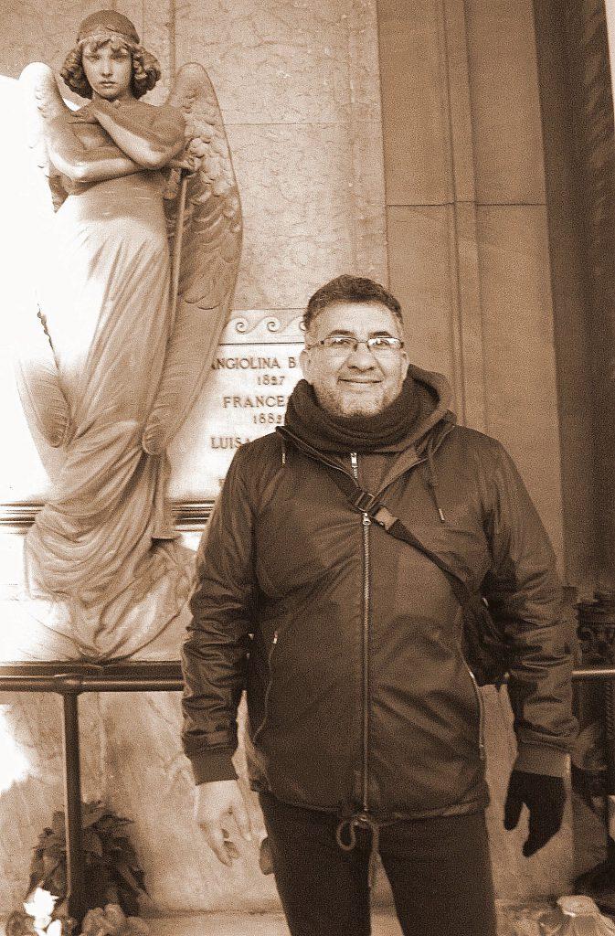 Alejandro Machado, autor de un asombroso catálogo de arquitectura antigua.