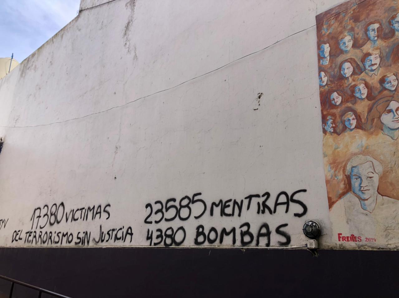 vandalizan mural desaparecidos 1