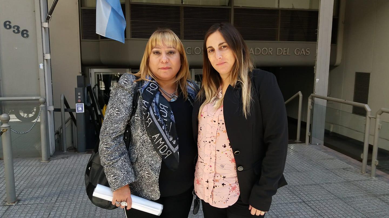 Marisa Sánchez junto a la Doctora Julieta Verones.