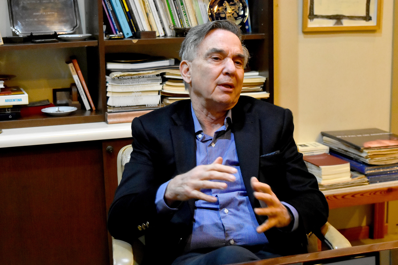 """Pichetto cuestionó la cuarentena dura y defendió la postura """"más flexible"""" de Montenegro."""