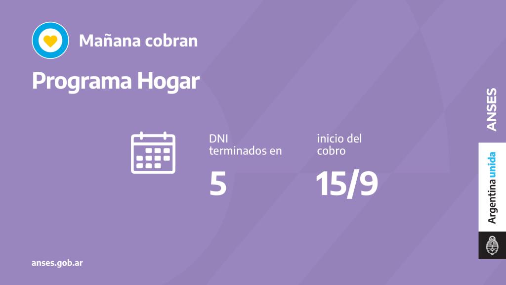 CALENDARIO 15.09.21 - HOGAR