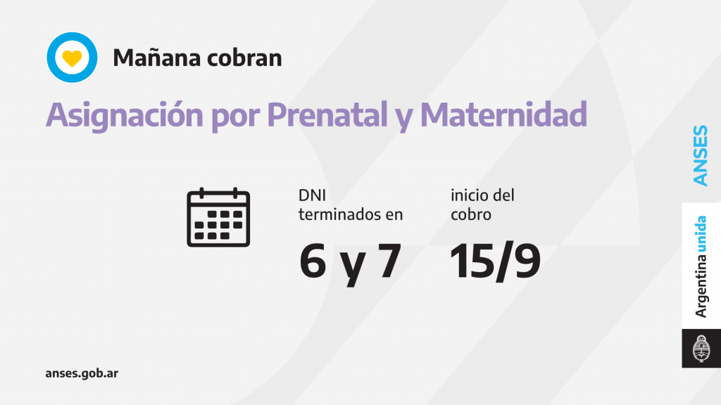CALENDARIO 15.09.21 - PRENATAL y MATERNIDAD