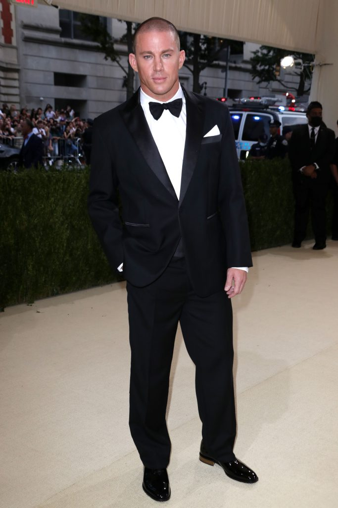 Mandatory Credit: Photo by Matt Baron/Shutterstock (12442602dp) Channing Tatum Costume Institute Benefit celebrating the opening of In America: A Lexicon of Fashion, Arrivals, The Metropolitan Museum of Art, New York, USA - 13 Sep 2021